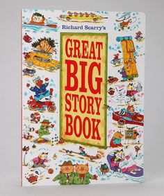 Treat your sweetie to the classic stories of Richard Scarry with this darling collection of his most beloved cast of characters. Book Boutique #zulily