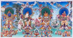 THE 4 Guardian Kings of the 4 directions. Virudhaka-Guardian of the Southern Direction and King of the Kumbhanda. He swore an oath of protection before the Buddha Shakyamuni.   Dhritarashtra - Guardian of the Eastern Direction and King of the Gandharva - celestial musicians. He swore an oath of protection before the Buddha Shakyamuni.   Vaishravana, leader of the Yaksha race, As the leader of the Four Direction Guardians,  Virupaksha - Guardian of the Western Direction and King of the Nagas.
