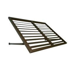 3 Ft. Bahama Metal Shutter Awning (24 In. H X 24 In. D) In Bronze