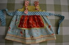 So adorable and the top apron is separate. Loved her web site!