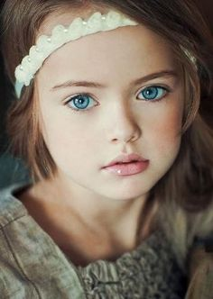 "Kristina Pimenova ~ ""That gorgeous face! I love photos like this, all eyes and facial features!"