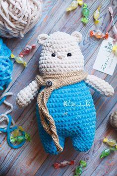 Cute crochet toy | Купить Мишка полярный в интернет магазине на Ярмарке Мастеров