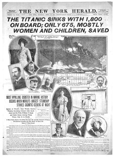 Titanic: 1912 disaster