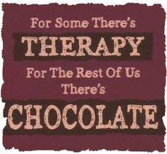 Therapy's too expensive these days. ;)