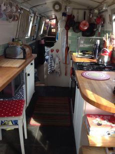 Boats for sale UK, boats for sale, used boat sales, Narrow Boats For Sale Liveaboard Narrowboat - Apollo Duck Narrowboat Kitchen, Narrowboat Interiors, Space Interiors, Sailboat Living, Living On A Boat, Tiny Living, Barge Boat, Canal Barge, Narrow Boats For Sale