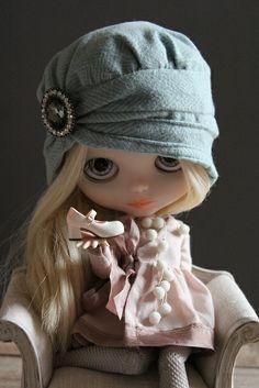 Blythe con un precioso zapatín