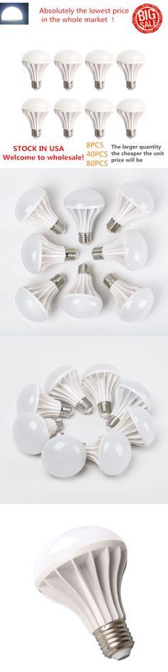 Light Bulbs 20706: 8Pcs Led E27 9W Energy Saving Light Lamp Bulb Light 110V 220V Big Sale! * -> BUY IT NOW ONLY: $38.99 on eBay!