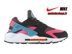 300496f2fc3 Boutique Officiel Nike Air Huarache GS Femme Fille Hyper Rose Cactus  poussiéreux Cendré moyen 318429-600G