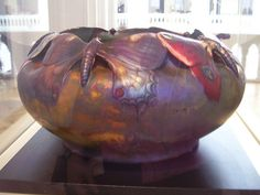 Art Nouveau vase by Vilmos Zsolnay