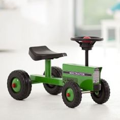 Mini Tractor Push Toy