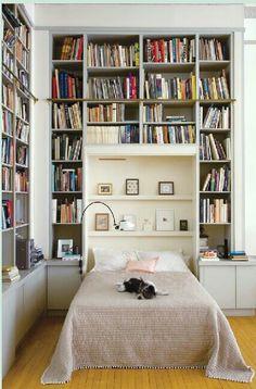 Bookish bedroom!