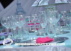 Para Ver la Decoración Completa Haz clic en el siguiente enlace http://serbebproducciones.com/index.php/decoraciones-de-eventos/decoracionespara15anos/42-fiestatematica-paris/114-decoracion-entrada-salon.html