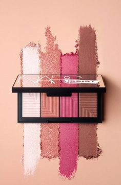 This limited-edition, all-in-one cheek palette by NARS. is filled with universally flattering highlighter, blush and contouring tones. @Nordstrom #Nordstrom