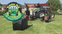 All About Tractors trailer
