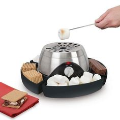 "A flame-free Smores maker that allows your toddler to ""Do it myself!"""