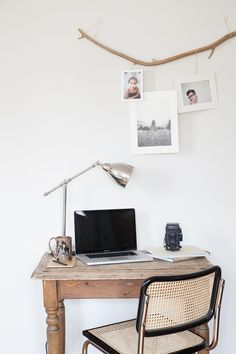 small but cozy workspace