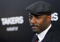 Idris Elba - salt & pepper in the goatee sexy.....