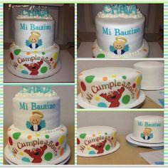 Elmo & Bautizo Cake