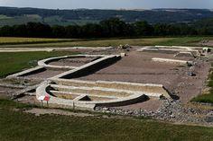 site archeologique de la bataille d'alesia proche de alise saint reine