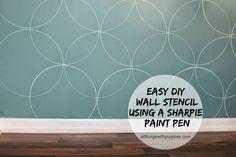 Easy (Free) Wall Stencil