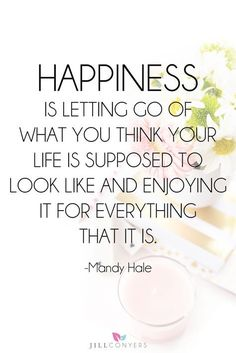 Quotes about Happiness : Happiness is about cultivating a life full of beautiful moments and cherishing t