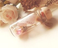 mini glass bottle
