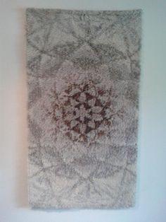 Ryijy Rya Rug, Tapestries, Textile Art, Hand Weaving, Fiber, Felt, Textiles, Cottage, Rugs