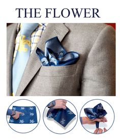 Best how to fold a pocket square tips 24 Ideas Pocket Square Folds, Pocket Square Styles, Men's Pocket Squares, Mens Style Guide, Men Style Tips, Cool Tie Knots, Tie A Necktie, Der Gentleman, Look Man