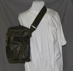 Vintage Military Back Pack or General Carrying Case, Waterproof Canvas by ilovevintagestuff on Etsy