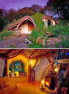 A Real Life Hobbit Hole - Picz Mania
