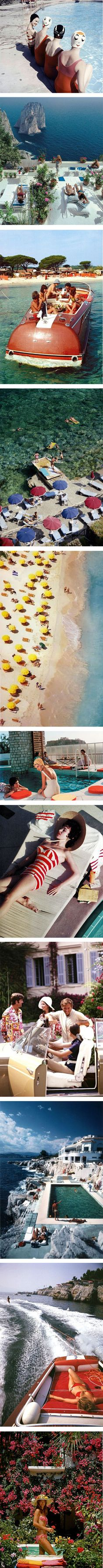 Summer vibes by Slim Aarons on Nuji.com #slimaarons #summervibes #photography