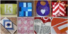 Project Quilting Challenge #2 - Favorite Color - mine is purple.  I Heart Camilla bib!!  Also won a prize from Dye Candy!!