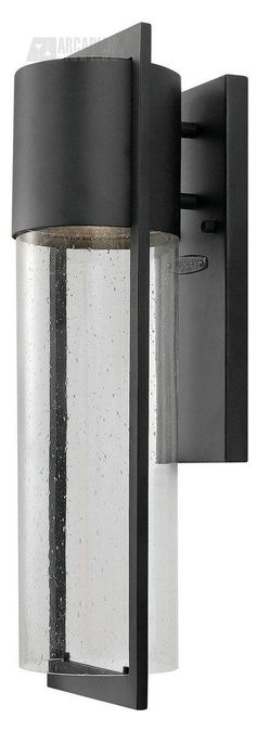 Hinkley Lighting 1324BK Dwell Transitional Outdoor Wall Sconce HK-1324-BK