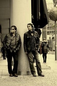 Jimi Jamison and Fred Zahl