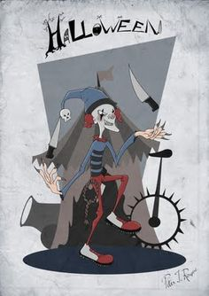 The Clown - Halloween Character Designs