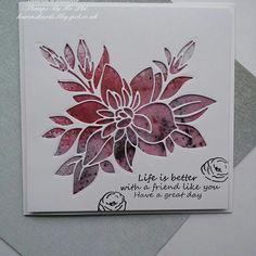 Paper Piece dies from Stamps By Me  #stampsbyme #dtsample #paperpiecedie #die #aperture #pixiepowders #flowers #card #creative #craft #ilovetocraft #creativity #karenzkardz