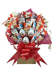 Kinder XL Chocolate Bouquet 41 Piece Tree Explosion Gift Hamper Selection Box…