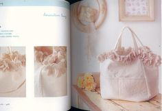 Lovely Bags by Kazuko Ryokai Japanese Crochet and Sewing Craft Book (In Chinese). $22,00, via Etsy.
