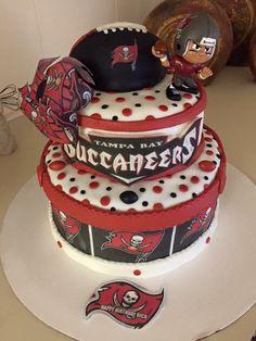Tampa Bay Buccaneers  cake