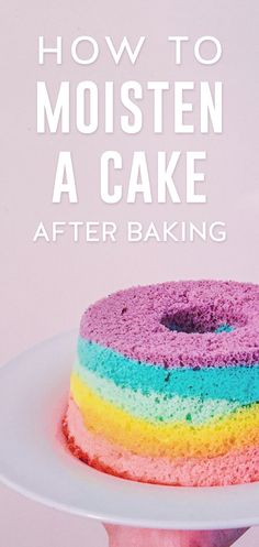 Don't assume a dry cake is a lost cause. The addition of this simple ingredient adds moisture and flavor to less-than-perfect baked goods.