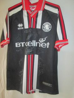 Middlesbrough-Away-Football-Shirt-Signed-by-2000-2001-Squad-with-COA-9393