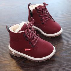 2019 1 to 4 years old winter baby snow boot boys and girls cotton shoes plush keep warm fashion boots non-slip kids martin boots Boys Snow Boots, Warm Snow Boots, Girls Shoes, Baby Shoes, Baby Sneakers, Winter Baby Clothes, Baby Winter Boots, Baby In Snow, Cheap Boots