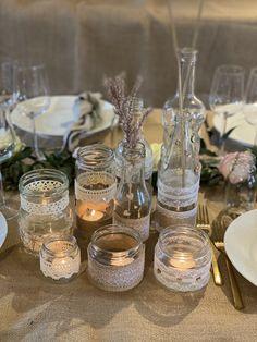 Glad, Fest, Backdrops, Table Decorations, Mini, Handmade, Wedding, Inspiration, Vintage