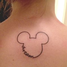 18 Gorgeous & Subtle Tattoos for the Avid Disney Fan 4