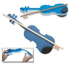Foam pre-twinkle violin