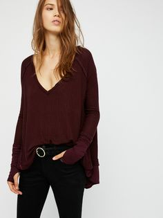 We the Free Laguna Thermal: my fave autumn layer.