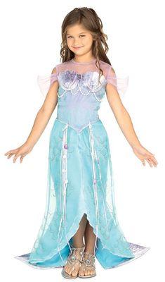 9bfb6b7811 Beautiful Deluxe Blue Mermaid Princess Ariel Dress-up Costume Todd S M