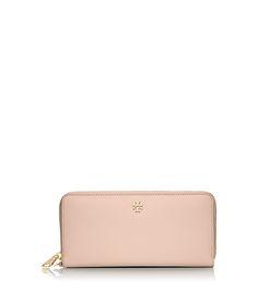 Tory Burch York Zip Passport Continental Wallet : Women's Matching Wallets & Handbags