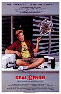 Real Genius posters for sale online. Buy Real Genius movie posters from Movie Poster Shop. We're your movie poster source for new releases and vintage movie posters. College Movies, 80s Movies, Great Movies, Comedy Movies, Excellent Movies, Awesome Movies, Genius Movie, Real Genius, See Movie