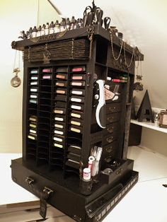 annes papercreations: Tim Holtz carousel storage tower